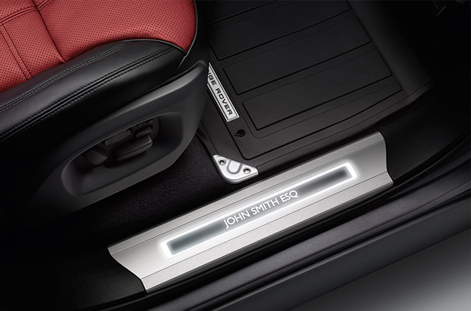 Land Rover Accessories - Customizable Interior Decor