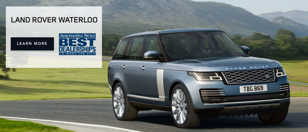 Land Rover Waterloo Best Dealership to work for 2018 Slide